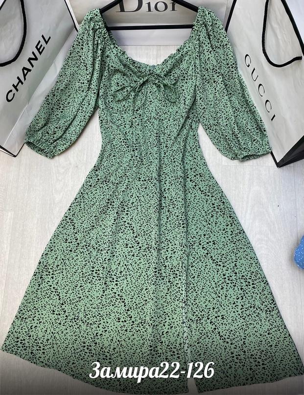новинки  Милое платье - для ваших лучших моментов  _______________________________  Цена   Размеры 42 44 46 48  Материал прадо  Длина 110см