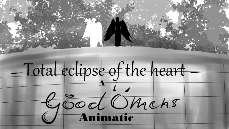 Good Omens animatic Total Eclipse of the Heart