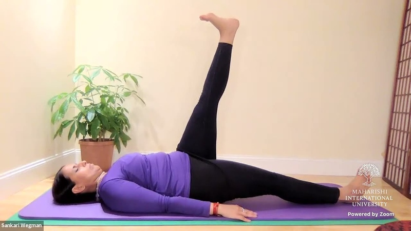 Maharishi Yoga Asanas Class Daily Practice Short Session