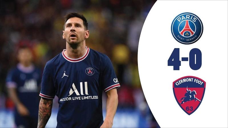 Paris Saint Germain Vs Clermont Foot 4 0