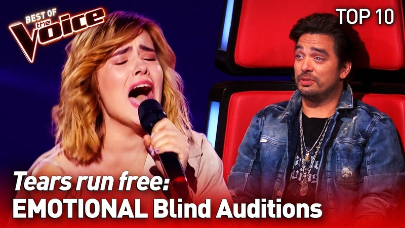 The most EMOTIONAL Blind Auditions on The Voice 2 TOP 10