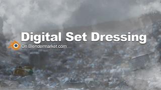 Digital Set Dressing 3d Assets for Blender - Detail any scene in Blender 3D
