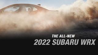 ALL NEW 2022 SUBARU WRX TEASER