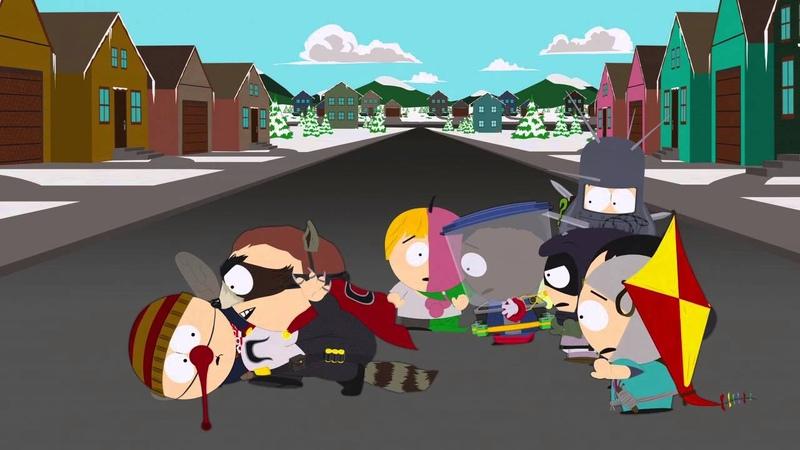 South Park Coon 2 Hindsight A Clockwork Orange scene