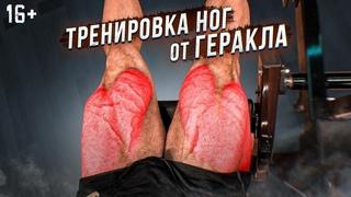 Тренировка ног от Геракла. Как накачать ноги. Упражнения для ног