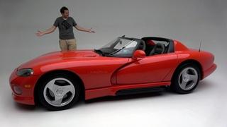 Первоначальный Dodge Viper 1992 года был до смешного простой, опасной спортивной машиной