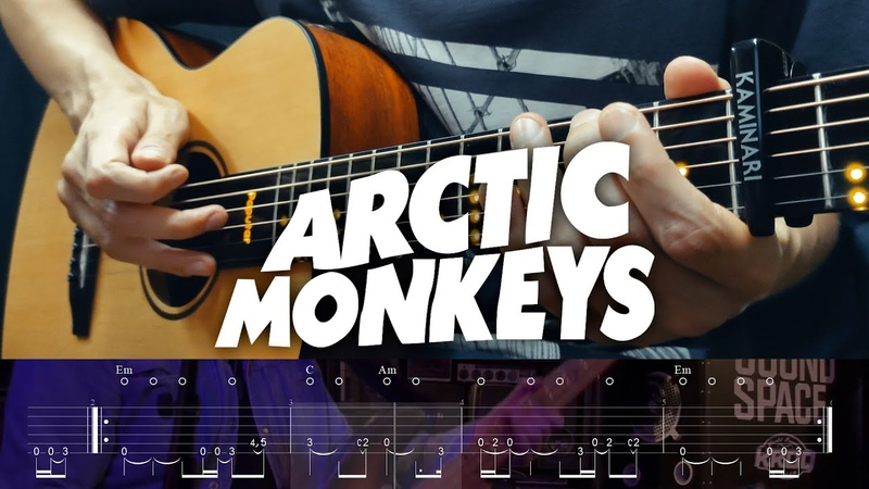 Arctic Monkeys Do I Wanna Know Fingerstyle Guitar Cover with Tabs
