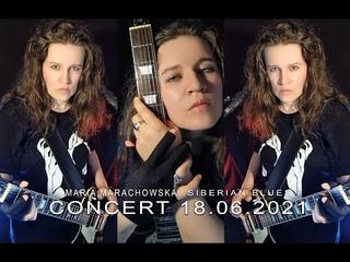 MARIA MARACHOWSKA - LIVE HD CONCERT -  - SIBERIAN BLUES #music #live