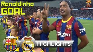 Barcelona Legends vs Real Madrid Legends 3-2 Сompletо Rеsumеn y Gоles 🔴 El Clásico 2021