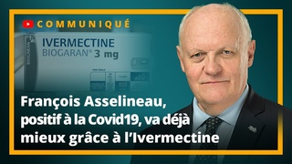 Franois Asselineau, positif  la Covid-19, va dj mieux grce  l'Ivermectine