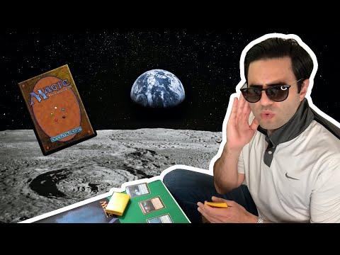 Walking on the Moon Magic The Gathering Parody