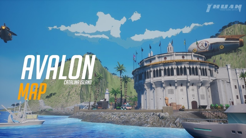 Avalon Map Unreal Engine Overwatch Inspired