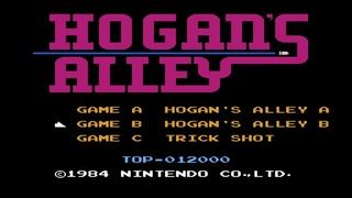 Hogan's Alley. Hogan's Alley B Mode. NES [No Damage Gameplay (5 Rounds) / Геймплей (5 Раундов)]