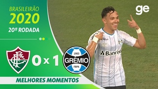 FLUMINENSE 0 X 1 GRÊMIO | MELHORES MOMENTOS | 20ª RODADA BRASILEIRÃO 2020 |