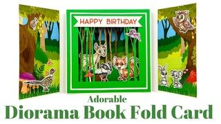 Diorama Book Fold Cards
