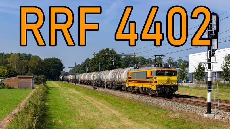 *Tyfoons* RRF 4402 met keteltrein langs Barneveld 4K