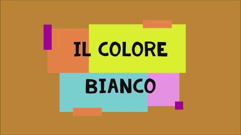 1 BIANCO I MODI DI DIRE CON I COLORI LEZIONI DI LINGUA ITALIANA PER STRANIERI CON ROBERTO