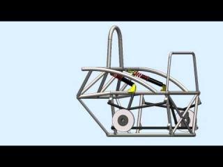 Ariel Atom Rear Suspension Unit Solidworks 2010