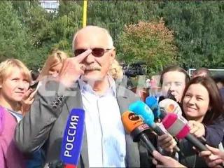 Никита Михалков открыл памятник которого нет