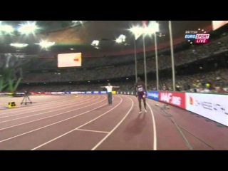 Femi Ogunode  Men's 100m Heat 3 IAAF World Championship Beijing 2015