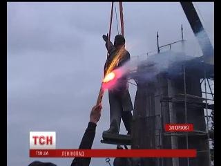 Пам'ятник Леніну в Запоріжжі демонтували протягом 28 годин