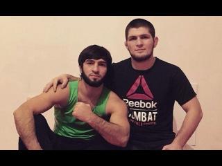 Хабиб Нурмагомедов проиграл спор Зубайре Тухугову, боец UFC будет драться одной рукой