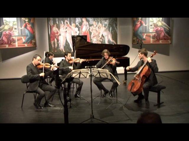 Ébène Quartet Nikita Mndoyants Brahms Piano quintet f minor op 34
