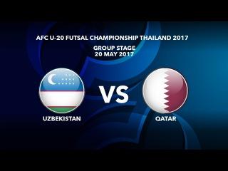 #AFCU20FC THAILAND 2017 - M39 Uzbekistan vs Qatar - Highlights