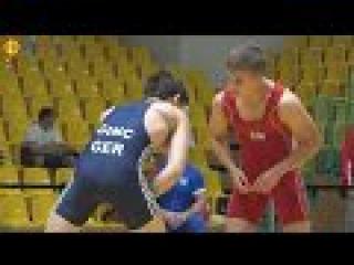 Ringen int. Brandenburg-Cup 2016 Junioren (Gr./Rö.) - 55kg Nord R 2