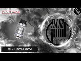 Доброе утро №91 | кофе и Fuji Son GTA by Digiflavor | LIVE | 11:00 MCK