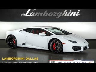 2017 Lamborghini Huracan LP 580-2 Bianco Monocerus L0968