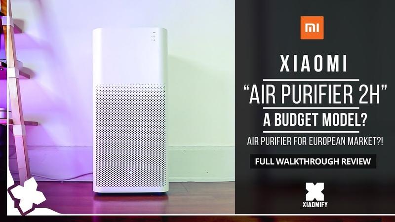 Xiaomi AirPurifier 2H Review Xiaomify