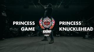 Princess Knucklehead vs Princess Game   Female Preselection Round   EBS Krump 2019