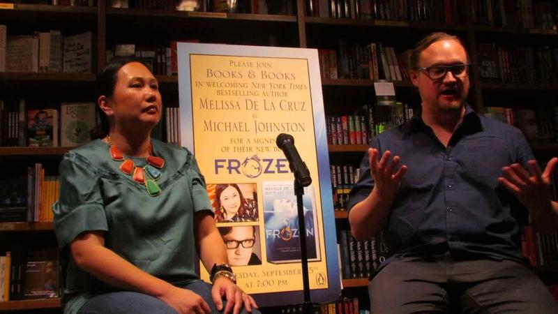 Melissa de La Cruz Michael Johnston at Books Books pt 1
