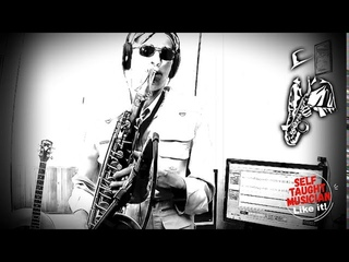 Estate. Bruno Martino. Instrumental cover. Saxophone.