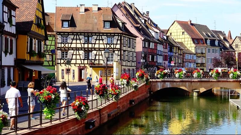 Мои путешествия Фахверковая сказка Эльзаса Wintzenheim Colmar Eguisheim