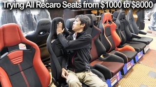 Japan exclusive Special JDM Recaro Seats from $1000 to $8000 | ASM Limited RS-G S2000 | JDM Masters