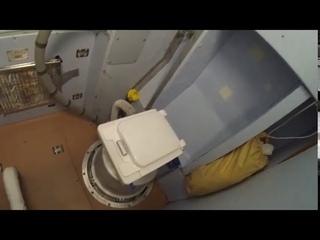 На МКС поломался американский туалет ходят в российский