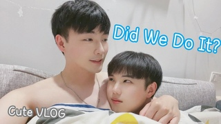 Did We Do It? | Cute VLOG About Our Day | 可愛的日常[Gay Couple Lucas&Kibo BL]