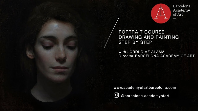 BAA Online Portrait Drawing and Painting Course with Jordi Diaz Alamà