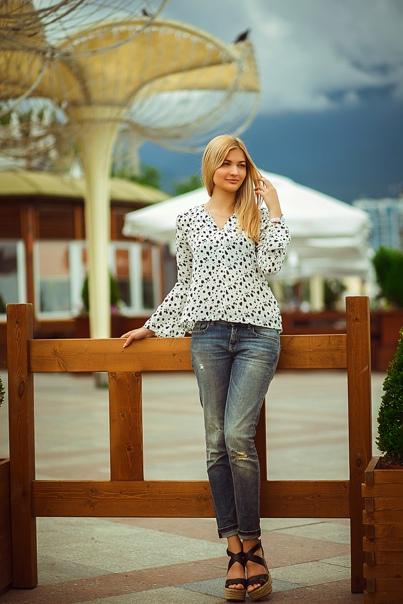 Кристина Вовк, Ялта, Украина