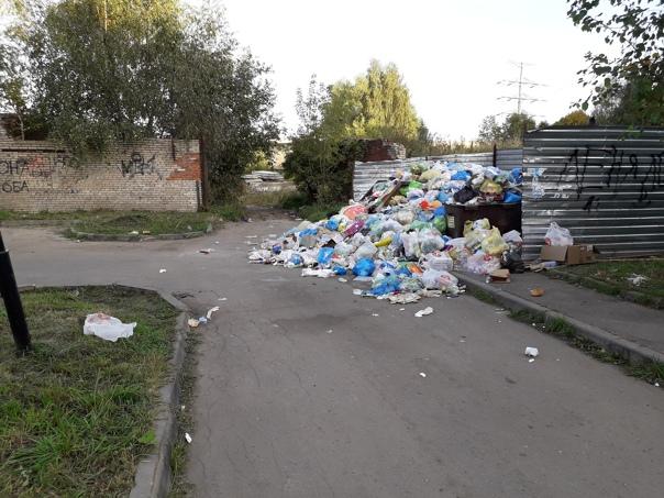 Управляющая компания ГУЖФ не вывозит мусор! Не реа...