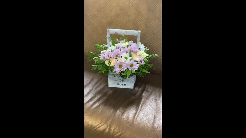 Видео от Цветы Пермь Доставка Роза небес