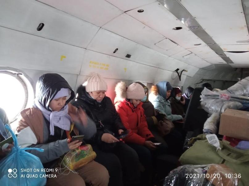 Жители отдаленных сел Булунского района доехали домой после месяца ожиданий в Тикси
