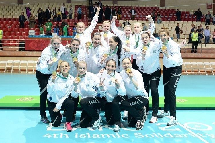 Сборная Азербайджана — чемпион Игр исламской солидарности-2017