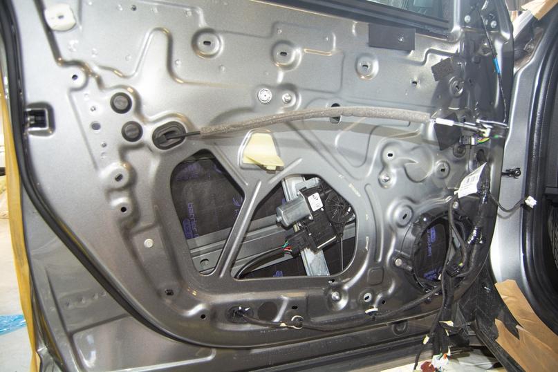 Комплексная шумоизоляция Renault Arkana, изображение №10