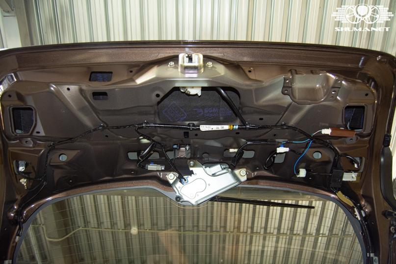 Комплексная шумоизоляция салона Subaru Outback., изображение №30