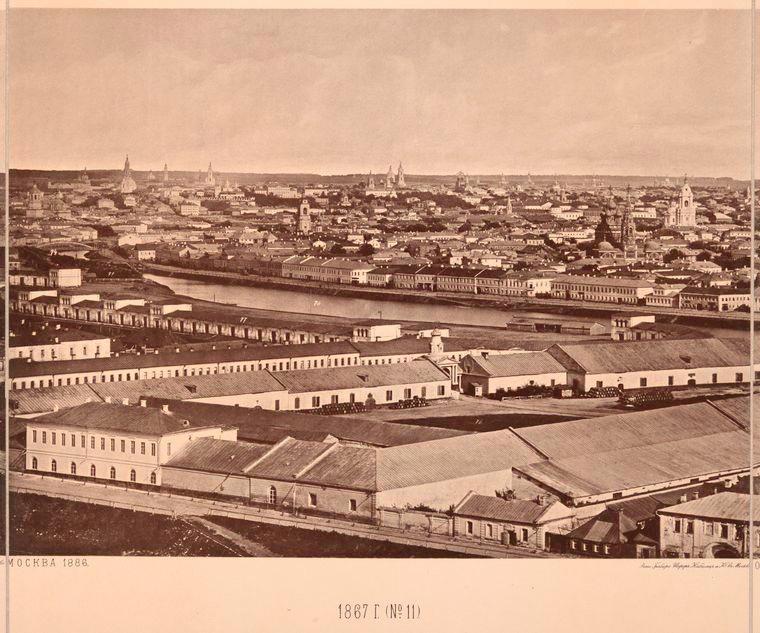 Москва без людей в 1867 году. Где все люди?, изображение №23
