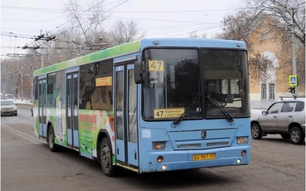 Автобусы маршрута №47 заменят на более вместительн...