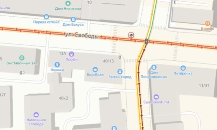 В центре Ярославля столкнулись две иномарки: где образовался затор